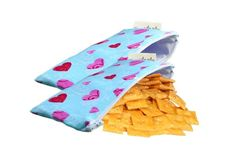 Itzy Ritzy snack bags - for an organized life. Love the Cupid snack bags for Valentine's Day.