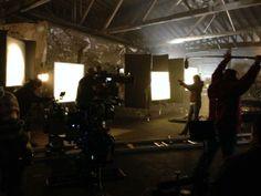 Andrew Bikichky - Camera rehearsal Beckett/Vulcan confrontation Ep622
