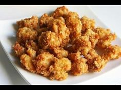 Popcorn chicken recipe how to make kfc style popcorn chicken Kfc Popcorn Chicken Recipe, Chicken Pakora Recipe, Chicken Snacks, Popcorn Recipes, Crispy Chicken, Chicken Nuggets, Pop Corn Chicken, Baked Chicken, Actifry Recipes