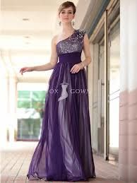 Silver and Purple dress