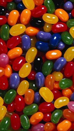 Jelly beans instead of jelly babies (since those are hard to find here in 'Murica)