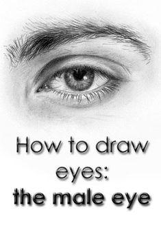 // male eyes //
