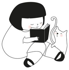 Lámina para niñas Me gusta leer de La tienda de dibus