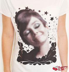 Camiseta Audrey  - CherryGumStore