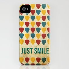 Just Smile. iPhone Case by Danielle Furman - $35.00