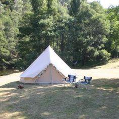 An off-grid secluded riverside campsite in Victoria's pristine Alpine…