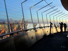 Space Needle Observation Deck! :) This is where my hubby proposed  to me on 10-17-09.