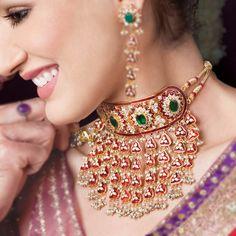 Fashion INDIA - Parure indienne -bijoux hindou -bijou indien - bijou bollywood Bijoux indiens: Vivah Collection par art Karat [mariage indien]. - Le blog de Fashion-India Indian jewellery