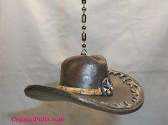 Western Decor Cowboy Cowgirl Ceiling Fan Light Chain Pull Pulls | eBay