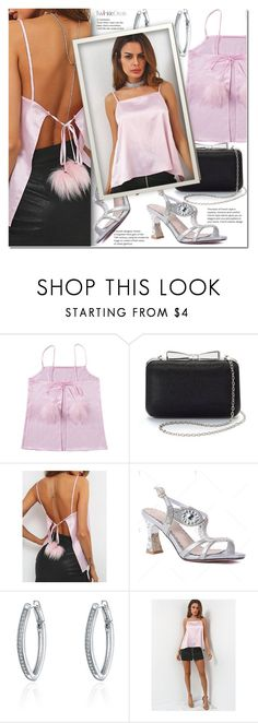 """""""Pink top"""" by j-sharon ❤ liked on Polyvore featuring La Regale"""