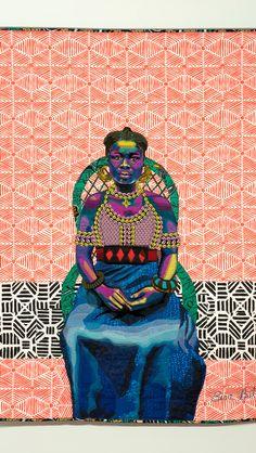 African American Artwork, American Artists, Contemporary African Art, Black Artwork, Anatomy Art, Street Art Graffiti, Art World, Textile Art, Art Inspo