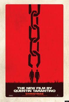 affiche américaine et espagnole du prochain film de Tarantino Django Unchained