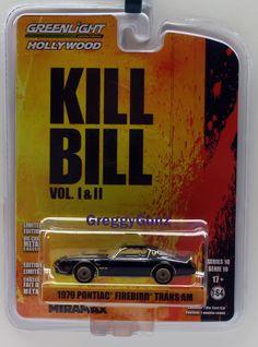 1:64 Greenlight Hollywood Series 10 - 1979 Pontiac Firebird Trans AM- Kill Bill  #GreenLight #Pontiac