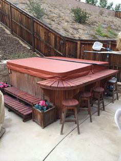 Give the last touch to your backyard by replacing your old spa cover.