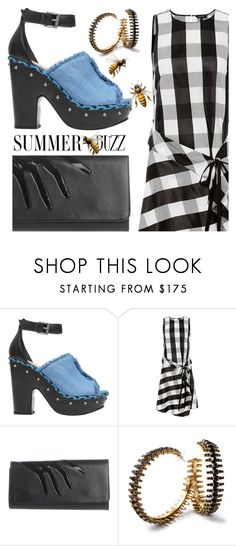 """""""Summer Buzz"""" by sharmarie ❤ liked on Polyvore featuring rag & bone, Perrin and Erickson Beamon"""