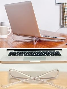 The Prop is a well designed, affordable, and portable laptop stand.