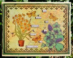Stamps - Artistic Outpost Flower Market