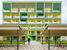 Student housing in Finland. EQUITONE [pictura] facade panels