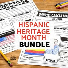 Hispanic Heritage Month Activities and Lesson Plans for Spanish Class - SRTA Spanish Spanish Classroom, Teaching Spanish, Spanish Teacher, Student Presentation, Teaching Culture, Spanish Sentences, Research Poster, Hispanic Heritage Month, English Activities
