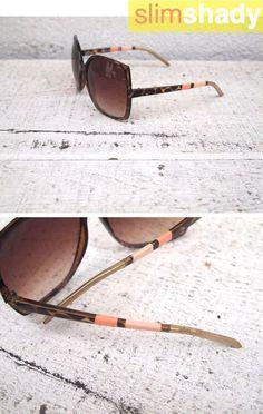 DIY Summer  : DIY Colorblock Sunglasses