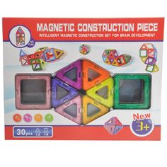 Amazon.com: Tinksky Magnetic Building Blocks Construction Learning Educational Toys Set for Toddlers / Kids - 30pcs: Toys & Games