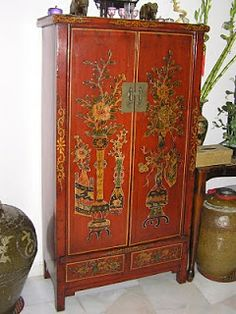 Chinese Antique Furniture Red 43 Ideas For 2019 Furniture Logo, Classic Furniture, Cool Furniture, Painted Furniture, Steel Furniture, Furniture Stores, Furniture Ideas, Kitchen Furniture, Antique Chinese Furniture
