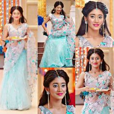 naira indian outfits in yrkkh / yrkkh outfits naira & naira outfits in yrkkh & naira indian outfits in yrkkh & naira outfits yrkkh latest Designer Bridal Lehenga, Bridal Lehenga Choli, Dress Indian Style, Indian Wear, Indian Attire, Indian Wedding Outfits, Indian Outfits, Indian Weddings, Pakistani Dresses