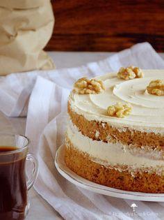 Tarta de café con nueces / http://pemberleycupandcakes.com/