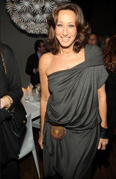 Donna Karan, queen of asymm