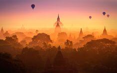 Bagan, Burma | Discovered from Dream Afar New Tab
