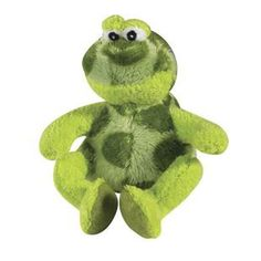 MEDIUM CROAKERS THE FROG TALKING DOG TOY