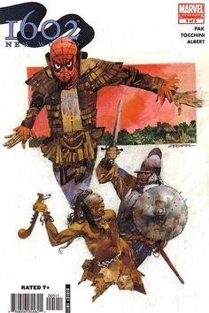 1602: New World # 5 by Sergio Toppi