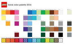 Lego color palette