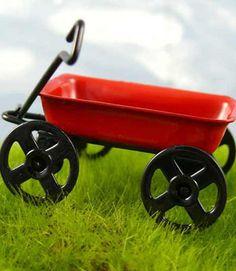 Mini Red Wagon