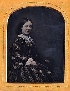 Susan Franklyn, english 1/9th ruby ambrotype, ca. 1854