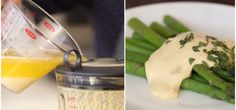 hollandaise The Secret to Perfectly Simple Hollandaise Sauce Salads Sauc Beautiful Sauces Wine Recipes, Cooking Recipes, Yummy Recipes, Wheat Belly Recipes, Sauce Hollandaise, Salad Sauce, Sauces, Brunch, Yummy Food