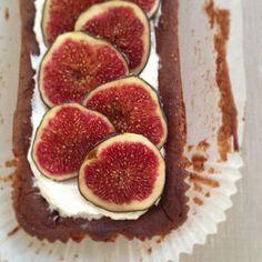 Fig and Orange Blossom Loaf Cake