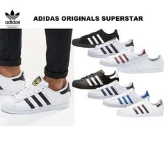 f1f8fa34cb2 Adidas Superstar Shoes Men Sneakers Adidas Originals B27140 C77124 NEW  Sneakers Adidas