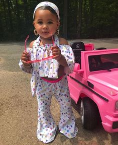 swag Now my question is where they get theses clothes from?-Niyah - May 04 2019 at Cute Mixed Babies, Cute Black Babies, Black Baby Girls, Cute Little Girls Outfits, Kids Outfits Girls, Baby Swag, Kid Swag, Swag Swag, Cute Kids Fashion