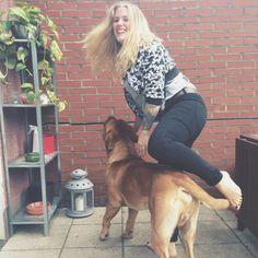 #newtonthefrenchmastiff // Newton, die Bordeaux Dogge