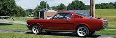 66 Fastback mustang 289  hotrod  pony 1966