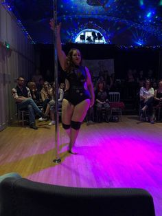 Pole Dance Fitness and Aerial Acrobatics Plus Size Fitness, Plus Size Workout, Pole Dancing Fitness, Pole Fitness, Aerial Acrobatics, Pole Dance, At Home Workouts, Competition, Curves