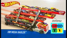 Hot Wheels Mega Hauler Truck 50 Cars Toys Cartoon for Kids Disney Cars, Disney Pixar, Cartoon Kids, Hot Wheels, Trucks, Toys, Activity Toys, Truck, Toy