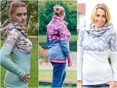 Nähanleitung für einen kuscheligen Hoodie / diy sewing instruction: feminine hoodie by Melian's via DaWanda.com