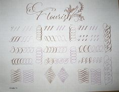 DeAnn Singh Calligraphy: November 21, 2011 - Pointed Pen Variations Class #7 at Sinai Temple
