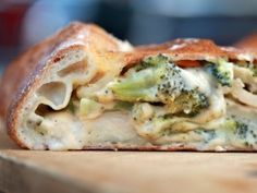 My Grandmother's Ravioli - Chris Massie - Christmas at the Firehouse: Chicken, Broccoli and Cheese Garbage Bread