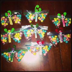 Macy's birthday treats for school!