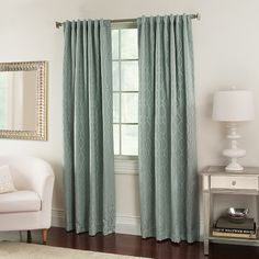 Nova Window Curtain Panels - BedBathandBeyond.com