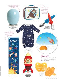 """""""Oh, the places You'll go""""! We ended up in the Blast Off section in Pregnancy and Newborn Magazine! Thanks so much!! @pngmag"""
