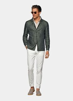 Green Wedding Suit, Wedding Suits, Business Casual Men, Men Casual, Suit Fashion, Mens Fashion, Suit Supply, Asos Online, Green Shirt